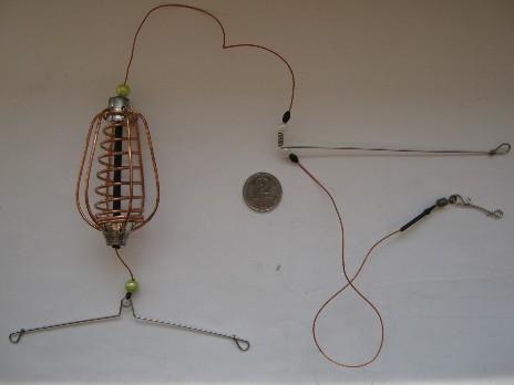 металлическая оснастка на карася